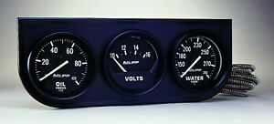 Auto Meter 2397 Gauge Oil Pressure Voltmeter Water Temperature