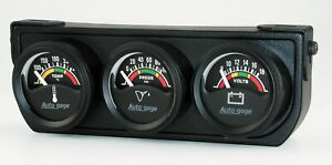 Auto Meter 2391 Gauge Oil Pressure Voltmeter Water Temperature