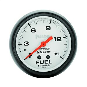 Autometer 5810 Phantom Mechanical Fuel Pressure Gauge