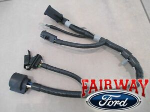04 F 150 New Body Style Oem Genuine Ford 7 4 pin Trailer Tow Wiring Harness