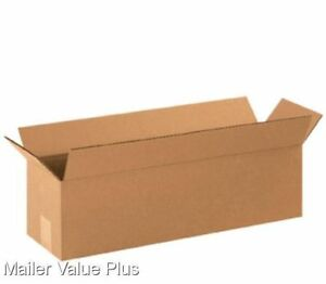75 22 X 6 X 6 Corrugated Shipping Boxes Packing Storage Cartons Cardboard Box