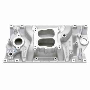 Edelbrock 2116 Performer Aluminum Intake Manifold W Vortec Heads For Chevy S B