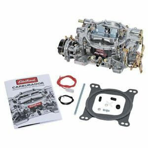 Edelbrock 1901 Avs2 500 Cfm Carburetor With Electric Choke Satin non egr