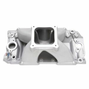 Edelbrock 28972 Super Victor Intake Manifold 10 2 Tall Deck Cnc Port Matched