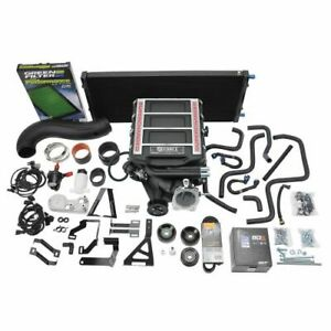 Edelbrock 15663 Stage 1 Street Supercharger W Tune For 2014 2018 Chevy gmc