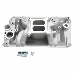 Edelbrock 7530 Rpm Air gap Intake Manifold Dual Plane For Amc 290 343 390