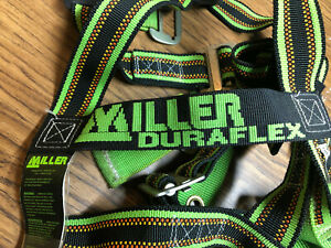 Miller Honeywell E850 4 ugnu Duraflex Fall Protection Harness Great Condition