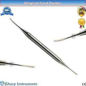 Gingival Cord Packer Dental Sulcus Tooth Retraction Restorative Packing Scaler