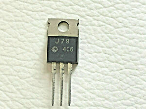 5 Pieces Hitachi 2sj79 Silicon P channel Mos Fet Free Shipping Within The Us