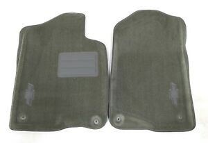 New Oem Gm Front Carpeted Floor Mat Set Titanium 19155779 Chevy Silverado 07 14