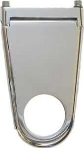 Borgeson Column Drop Blank Style 2in Column X 2in Drop Polished Aluminum