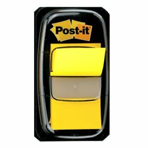 Post it Flags Value Pack Yellow 1 inch Wide 50 dispenser 24 dispensers pack