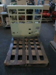 Forklift Push Pull Slip Sheet Attachment Class 2 Carriage Style Used