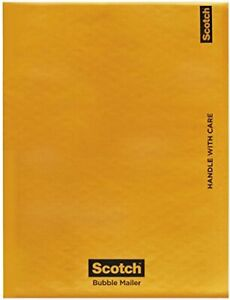 Scotch Bubble Mailer 7973 8 5 In X 13 75 In Size 3 case 80