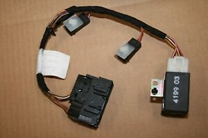 Porsche 996 911 986 Boxster 97 05 Left Heated Seat Harness Relay Pigtail Switch