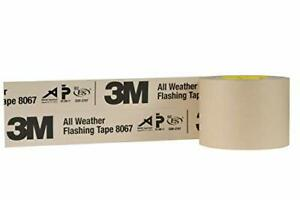 3m All Weather Flashing Tape 8067 Tan 4 In X 75 Ft Slit Liner pack Of 1