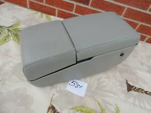 1993 96 Cadillac Fleetwood Buick Roadmaster Center Console Leather Grey Oem