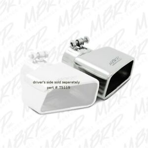 Mbrp Exhaust T5120 Angled Rectangle Exhaust Tip