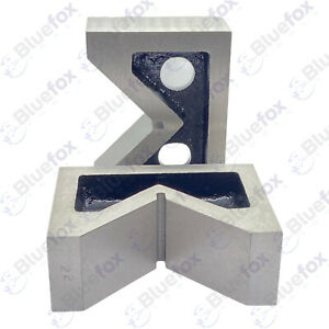 Cast Iron Vee Block Set Of 2 Pieces 4 X 1 1 2 X 3 Inch V Block Without Clamp