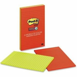 3m 660 3ssan 4 In X 6 In Post it r Super Sticky Notes 66