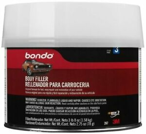 Bondo 267 1 2 Gallon Salmon Bondo Body Filler