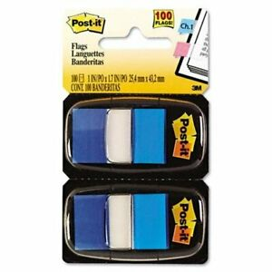 3m 680 be12 1 In X 1 7 In 25 4 Mm X 43 2 Mm Post it r Flags 680 be12
