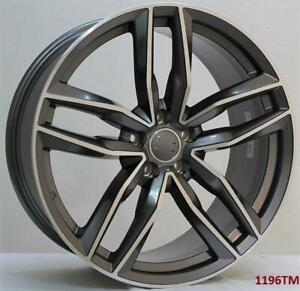 20 Wheels For Audi A7 S7 2014 Up 5x112 20x9