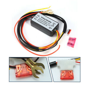 12v Led Daytime Running Light Harness Drl Auto On Off Switch Controller