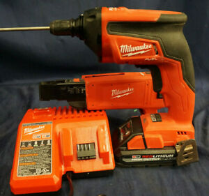 Milwaukee 2866 20 Screw Gun 49 20 001 Collated Drywall Attachment W charger