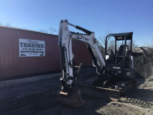 2011 Bobcat E32 Hydraulic Mini Excavator W Thumb Kubota Engine 3300 Hours