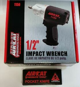 Aircat 1150 1 2 Composite Killer Torque Impact Wrench Free Ss Blade Knife