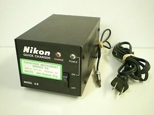 Nikon Light Rangefinder Quick Charger model Q 8 Surveying Equipment Accessory