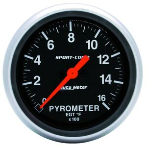 Autometer 3544 Sport comp Electric Pyrometer Gauge Kit