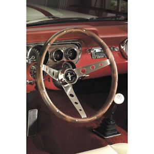 Grant 15in Walnut Mustang Wheel P N 966
