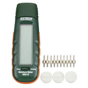 Extech Digital Moisture Meter With Bargraph M0210 New