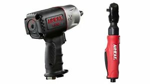 Aircat 1150 1 2 1295 Ft lbs Loosening Air Impact Wrench W Air Ratchet 800