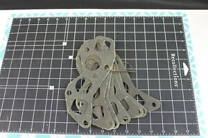Antique Hudson Motors Oem Engine Gasket Lot 8 Gaskets Old But Never Used