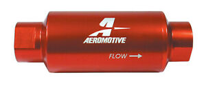 Aeromotive Fuel Filter W 10 Micron Paper Element P N 12301