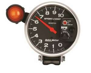 Auto Meter 5in Sport Comp Monster Tach W Shift Light P N 3904