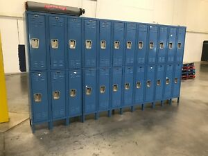 Hallowell 6 Doors Employee Lockers