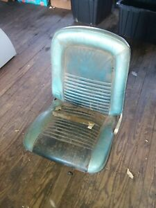 1967 Ford Mustang Drivers Side Seat
