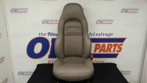 04 Chevy Corvette C5 Front Right Passenger Power Seat Gray Leather