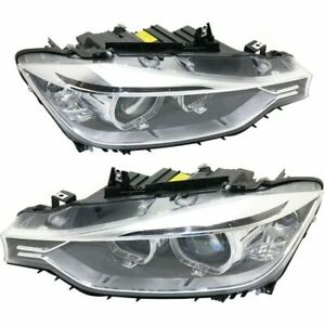 Zkw 7215110002 7215210002 Headlight Assy Set Right And Left Hid Xenon