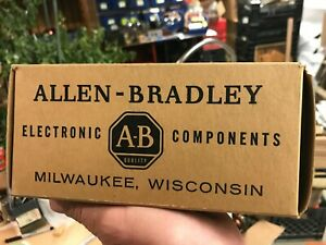 Carbon Comp Composition Resistors Allen bradley Nos Vintage Many Values