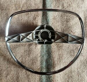 Original 1949 Chevrolet Deluxe Accessory Horn Ring Steering Wheel Gm Rare