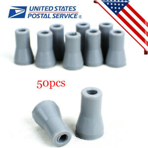 50x Dental Oral Se Saliva Ejector Replacement Rubber Valve Snap Tip Adapter Tool