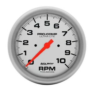 Auto Meter 4498 Ultra lite 5 In dash 10000 Rpm Tach