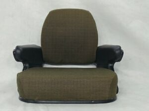 Brown Fabric Seat Assembly Topper John Deere 4030 4230 4430 4630 8430 8630 ss
