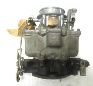 1941 1942 41 42 Buick Carter Wcd 528 Carburetor With Starting Switch Nos