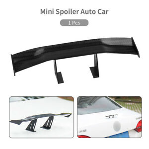 New Universal Mini Spoiler Auto Car Tail Decoration Spoiler Wing Carbon Fiber